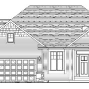 Front Elevation - 590 Mary Way Slinger WI - Farmstead Creek Subdivision
