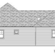 Left Elevation - 590 Mary Way Slinger WI - Farmstead Creek Subdivision