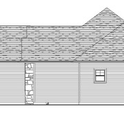 Right Elevation - 590 Mary Way Slinger WI - Farmstead Creek Subdivision
